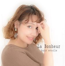 La Bonheur hair etoile所属の菅野奈々
