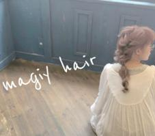 magiy hair(Sora Co.,Ltd)所属の西部笑