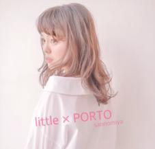 little×PORTO sannomiya所属のstylistHARU
