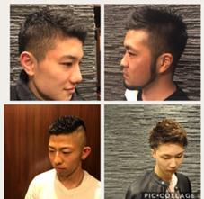 ヒロ銀座barber shop新宿店所属の横田大和