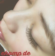 champ de   (シャン ドゥ)所属のマツエクサロンchamp de