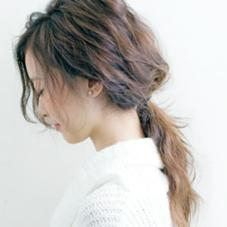 DECENTAGE hair make所属の佐藤順奈