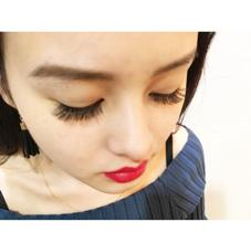 nail eyelash design Hep所属の坂部優