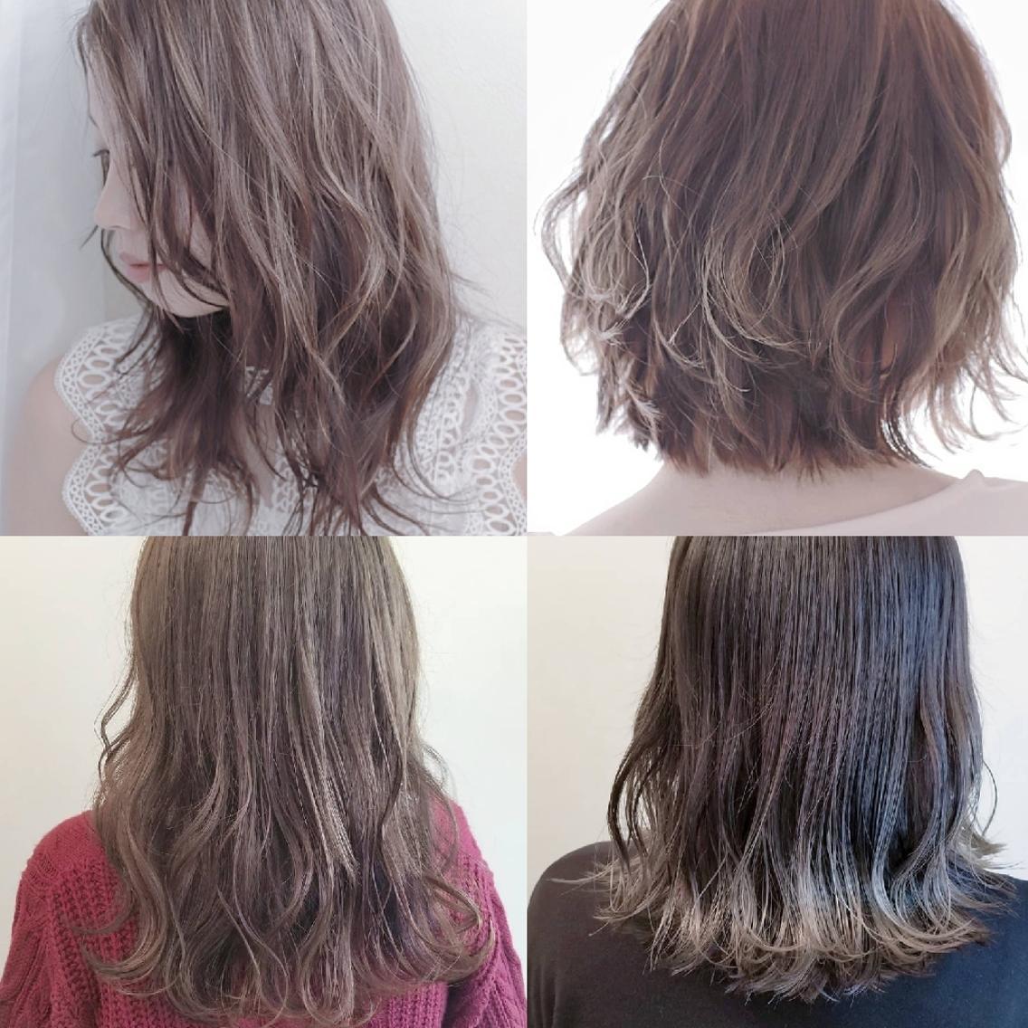 透明感カラーとふんわりパーマはおまかせ☆ 今のトレンドとお客様のなりたいをミックスさせたヘアスタイルを一緒に探しましょう☆