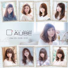 AUBE  hair green所属の田上亮