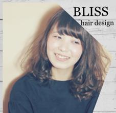 BLISS hair design所属の滝恵里奈