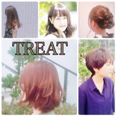 TREAT HAIR DESIGN所属の勝見織江