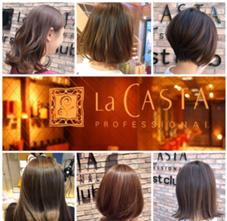 La CASTA  hair stylist club所属の大橋祐介