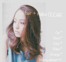 hair + make CLEAR本店所属の🔅大城綾香🔅