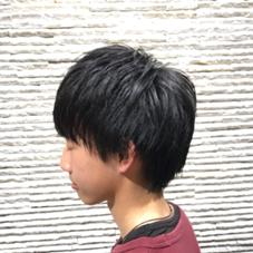 miq hair&make up所属の福岡拓也