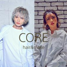 CORE  HAIR&MAKE所属のCOREshinjuku