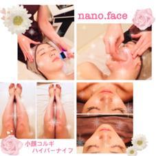 ハイパーナイフ・コルギ専門 nanoface-ナノ・フェイス(旧美脚&小顔ラボ)所属の上田幸奈