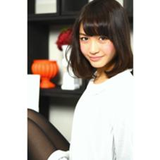 Agu hair marry 運動公園前店所属の島田 真希子
