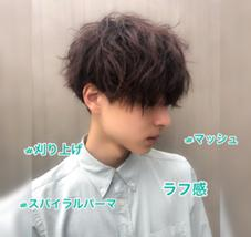 knot(theater)所属のmen's hair川久保 光