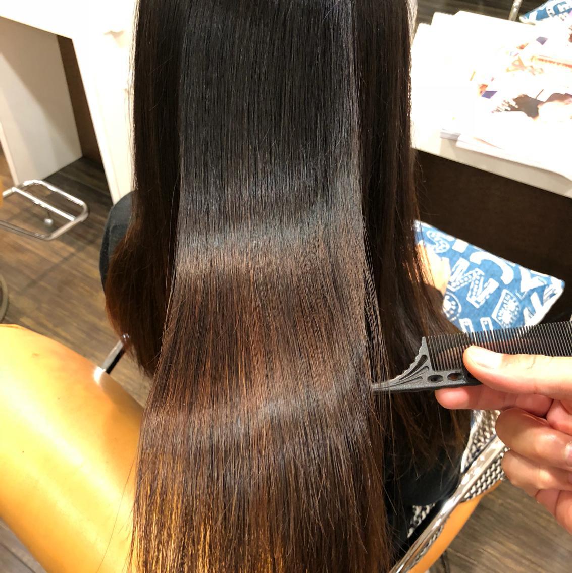 髪質改善☆縮毛矯正!圧倒的ツヤ髪!