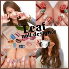 nail design Leaf所属のネイルデザインリーフ
