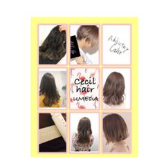 Cecil hair 梅田所属のSHIHO