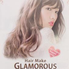 Hair Make GLAMOROUS所属の藤元雄貴