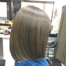 hair salon Rūsh所属の亀山愛実
