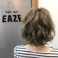 hair  art EAZE所属のミリー
