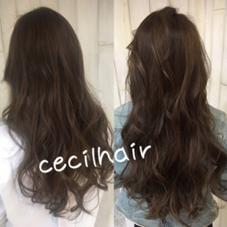 Cecil hair 梅田店所属のカリン