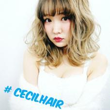 Cecil hair 福岡天神店所属のcecilhair店長 MIYA