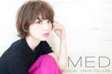 MEDICAL HAIR MED【チーフスタイリスト】所属のデムラタニユウタ