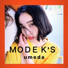 MODEK's梅田所属の植山咲