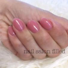 nail salon filled所属の真木 恵実
