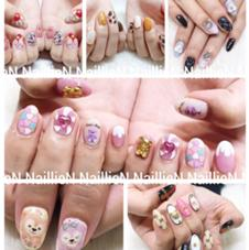 nail  foot care salon lien所属のNaillieN