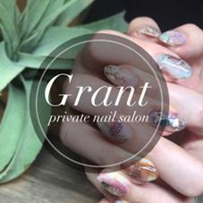 """privatesalon""""Grant""""所属のnail salonGrant"""
