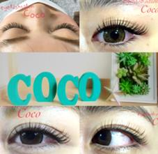 eyelashsalonCoco所属のCocoココ