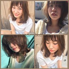 hair&makeFORS所属の根岸桃子