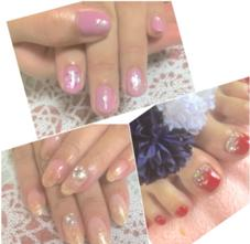 private nail salon maple所属のYAMAGUCHIYUUKA