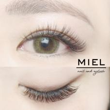 MIEL nail&eyelash所属のNAKAJIMAMAI