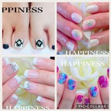 NailSalonHAPPINESS所属のNailSalonHAPPINESS