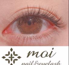 nail&eyelashmoi(モア)所属のeyelashmoi