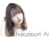 hairresortAi新宿西口店所属の白澤知亜美