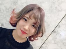 hair&make EARTH高崎店所属の茂木絵梨子