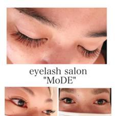 """eyelashsalon""""MoDE""""所属のuejyoChiaki"""