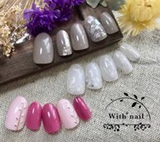 with+nail所属の佐藤愛