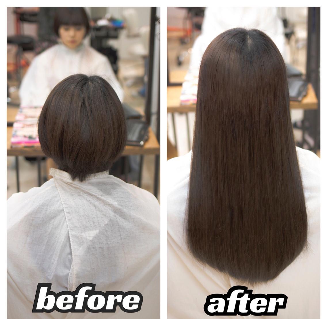 暗い色から明るい色まで、さらに色味まで豊富で、毛質も最高級レミー人毛シールエクステ1本300円(さらになじませカット無料)!
