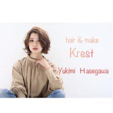 hair&makekrest【クレスト】梅田茶屋町店所属の長谷川幸美
