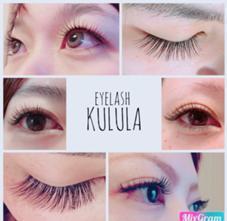 eyelash KULULA所属のeye lashKULULAまりな