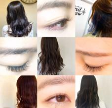 hair make brand new&carina天王寺店所属の柴野美里