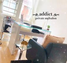 【addict】private nailsalon所属の【 addict 】rina