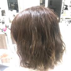 hair &make EARTH稲毛店所属の松本結衣