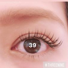 THREENINE所属のTHREENINEEYELASH