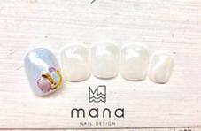 moanaモアナブラジリアンワックス所属のマナネイルデザイン