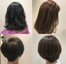 hair&makeEARTH伊勢崎店所属の森村蒼唯